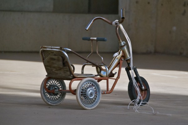 tricycle at Arcosanti