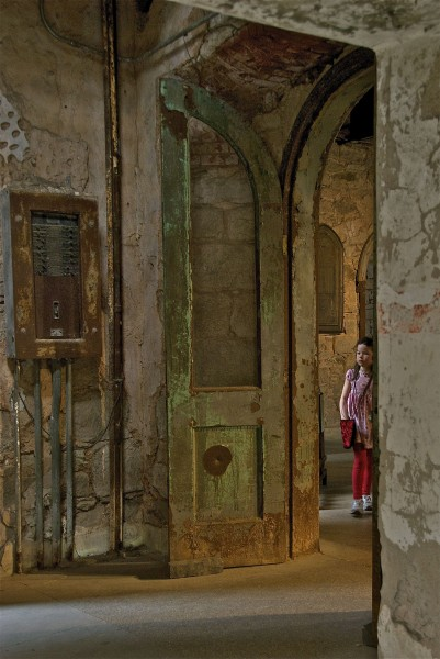 Eastern State Penitentiary - little girl