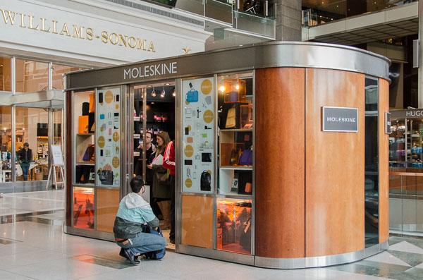 Moleskin store at Columbus Circle NYC