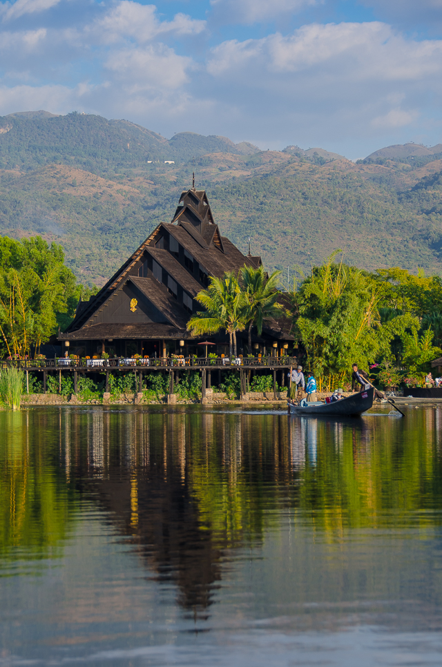 The Inle Lake Princess Resort in Myanmar