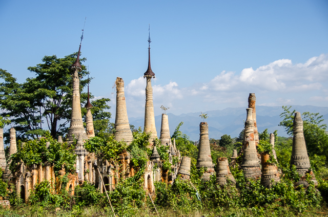 shwe inn dain pagoda, myanmar