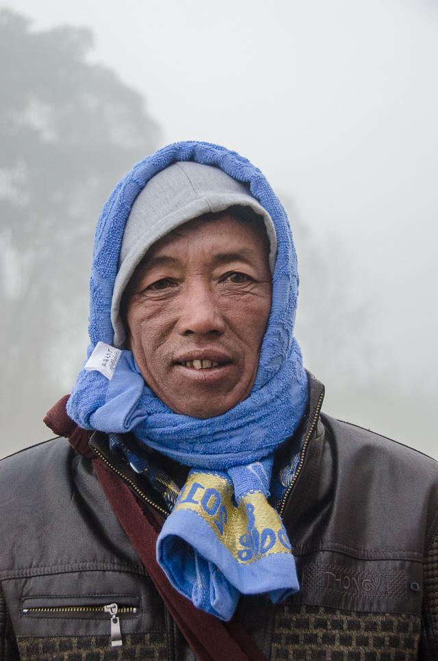 foggy morning at inle lake, myanmar