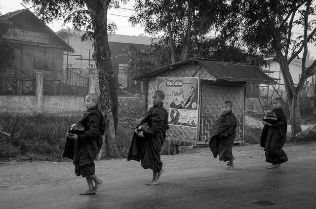 early morning in Heho, Myanmar