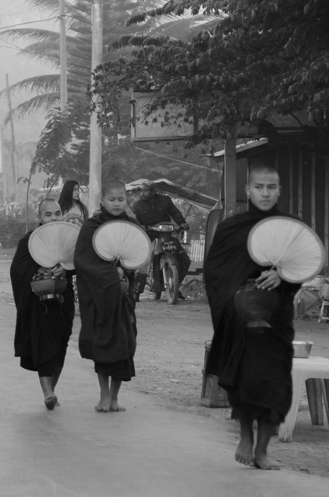 morning in heho, myanmar
