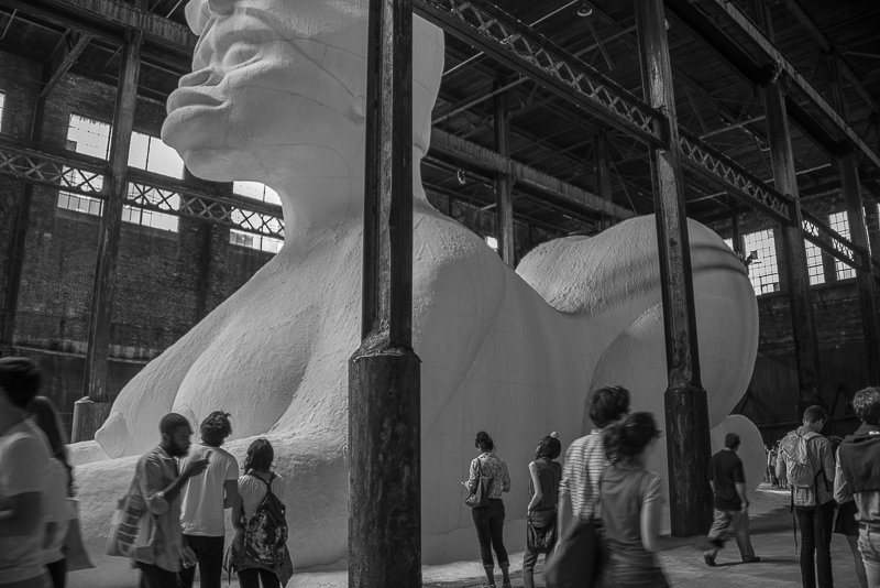 Kara Walker, A Subtlety or The Marvelous Sugar Baby