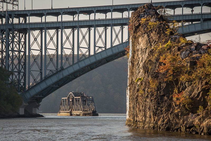 The Spuyten Duyvil Bridge  is a railroad swing bridge