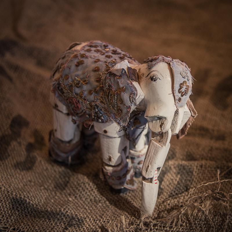 elephant puppet in myanmar