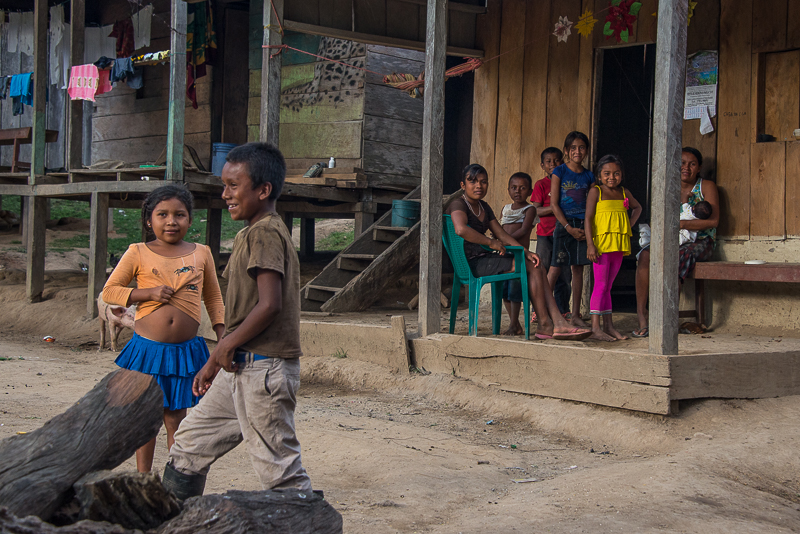 remote villages along the rio coco in nicaragua