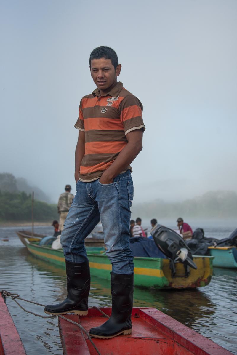 panga boys on the rio coco