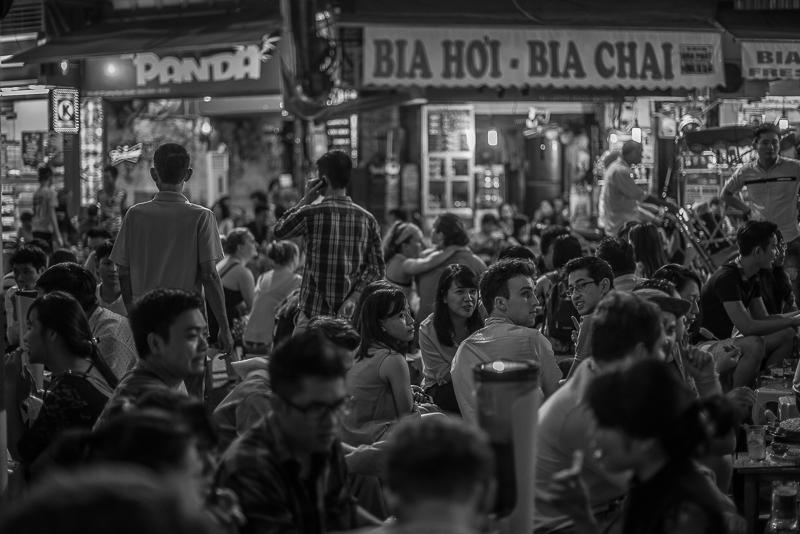old quarter hanoi - night