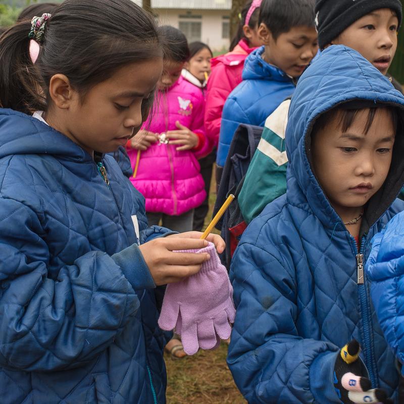 Tan Dan school students in Vietnam