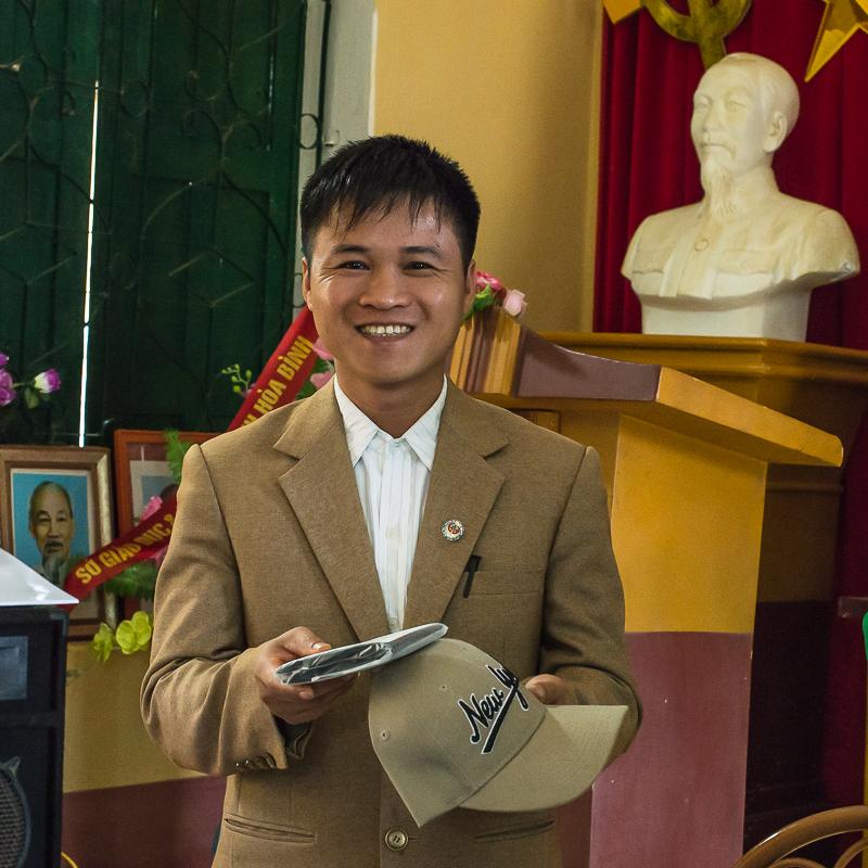 headmaster at tan dan school