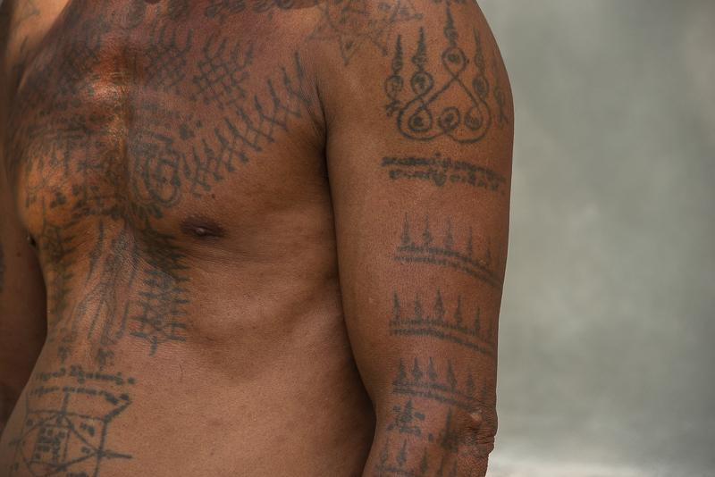 magic tattoos in Cambodia
