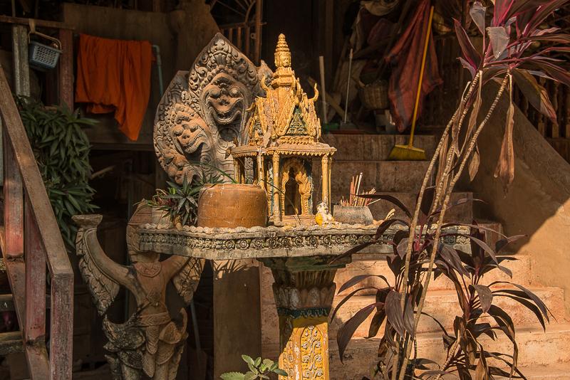 Spirit houses in Cambodia