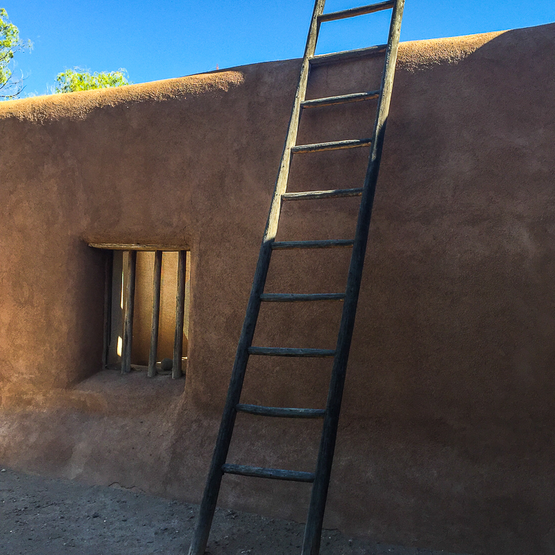 Georgia O'Keeffe home in Abiquiu, New Mexico