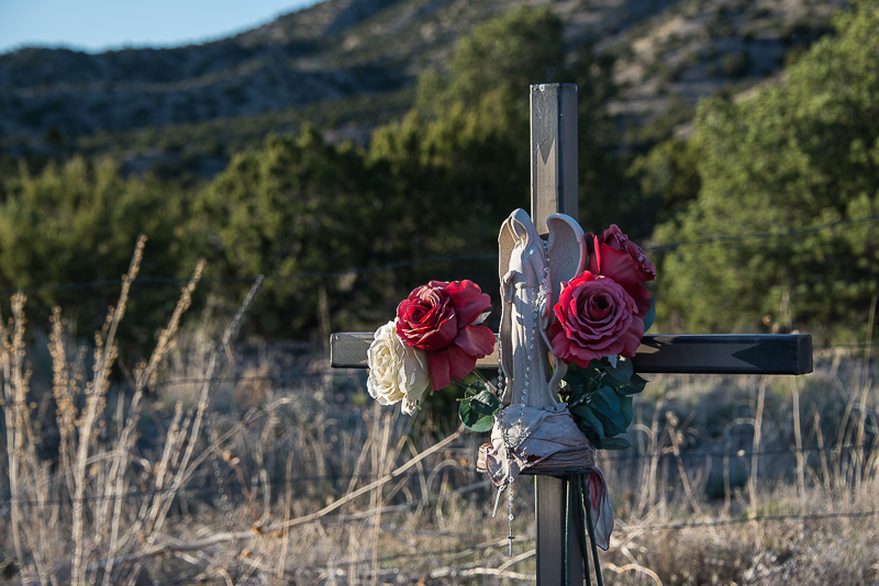 cemetery in el rite community, New Mexico